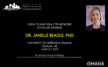 Scholar Interview: Janelle Beadle, PhD