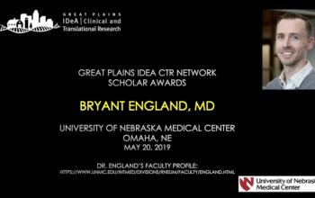 Scholar Interview: Bryant England, MD